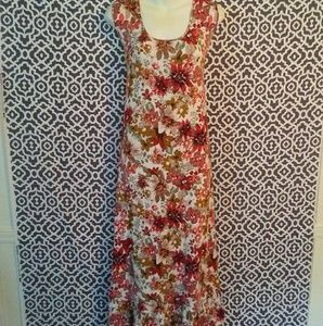 Soft Surroundings Milafiores Viscose Gown Sz. XL